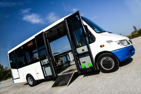 accessible bus for domestic transport